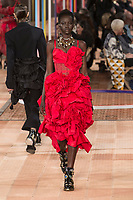 ALEXANDER MCQUEEN <br /> show at Spring/Summer 2018 Ready-to-Wear Fashion Show at Paris Fashion Week in Paris, France in October 2017.<br /> CAP/GOL<br /> &copy;GOL/Capital Pictures