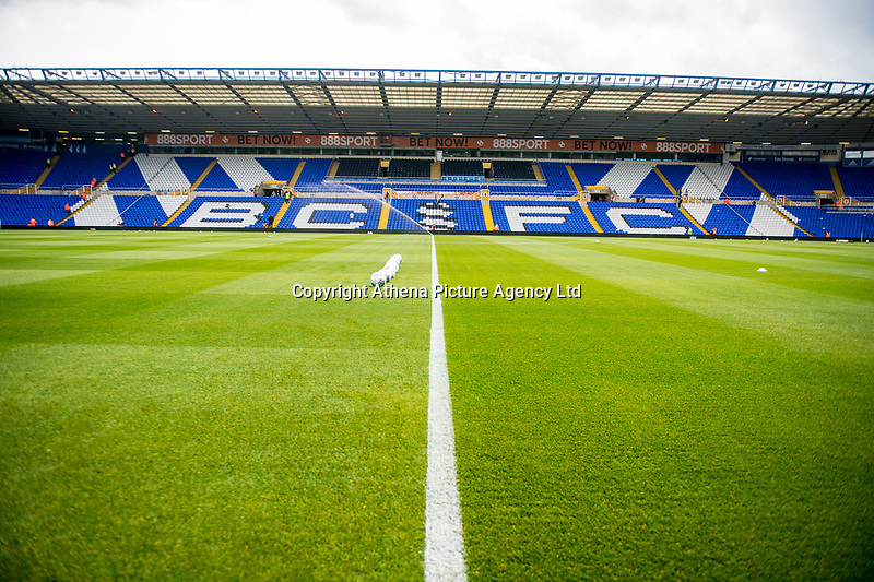 General view of St Andrew's during the Pre-season friendly match between Birmingham City and Swansea City at St Andrew's Stadium, Birmingham, England, UK. 29 July 2017