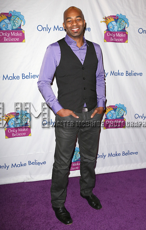Brandon Victor Dixon attends the 14th Annual 'Only Make Believe' Gala at the Bernard B. Jacobs Theatre on November 4, 2013  in New York City.