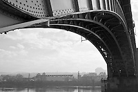 Pittsburgh's Bridges - B&W