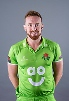 Picture By Allan McKenzie/SWpix.com - 11/04/18 - Cricket - Lancashire County Cricket Club Photo Call Media Day 2018 - Emirates Old Trafford, Manchester, England - Danny Lamb.