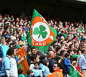 June 4th 2017, Aviva Stadium, Dublin, Ireland; International Friendly, Ireland versus Uruguay;  Irish supporters