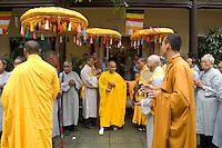 Thien Minh monastery, Thich Khe Chon, abbott.