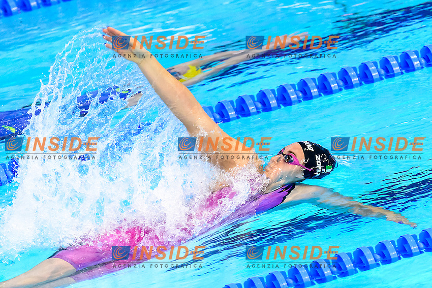 Carlotta ZOFKOVA ITA<br /> 100m Backstroke Women Preliminary <br /> London, Queen Elizabeth II Olympic Park Pool <br /> LEN 2016 European Aquatics Elite Championships <br /> Swimming<br /> Day 10 18-05-2016<br /> Photo Andrea Staccioli/Deepbluemedia/Insidefoto