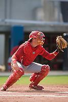 Jack Cawley (19) of the Johnson City Cardinals on defense at Dan Daniels Park in Danville, VA, Sunday July 27, 2008.