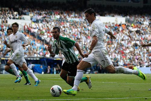 15.10.2011, Madrid, Spain., Santiago Bernabeu, La Liga, Real Madrid vs Betis  Picture show Cristiano Ronaldo. Mandatory credit: ActionPlus