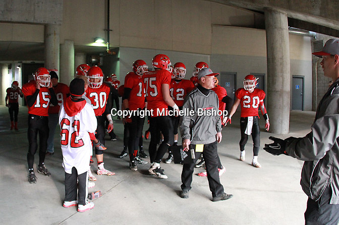 Boone Central/Newman Grove beat Ashland-Greenwood 54-14 in the Class C-1 state football championship on Tuesday, Nov. 25, 2014, at Memorial Stadium in Lincoln, Neb. (Photo by Michelle Bishop)