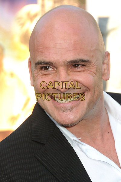 """Bas Rutten.""""Zookeeper"""" Los Angeles Premiere held at the Regency Village Theatre, Westwood, California, USA..July 6th, 2011.headshot portrait black white smiling .CAP/ADM/BP.©Byron Purvis/AdMedia/Capital Pictures."""