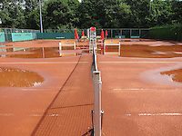26-08-12, Netherlands, Amstelveen, Tennis, NVK, Claycourt with rain