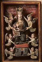 Europe/France/Limousin/19/Corrèze/Env de Voutezac/Le Saillant : La Vierge de Lorette dans l'église