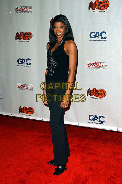 RENEE GOLDSBERRY.Songs of the Year Taping Presented by Cracker Barrel held at Schermerhorn Symphony Center, Nashville, Tennessee, USA, 05 November 2006..full length.Ref: ADM/GS.www.capitalpictures.com.sales@capitalpictures.com.©George Shepherd/AdMedia/Capital Picture.