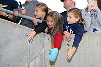 Cary, North Carolina  - Saturday September 09, 2017: Young fans prior to a regular season National Women's Soccer League (NWSL) match between the North Carolina Courage and the Houston Dash at Sahlen's Stadium at WakeMed Soccer Park. The Courage won the game 1-0.