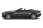 Car Driver side profile view of a 2019 Aston Martin DB11-Volante - 2 Door Convertible Side View