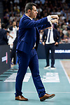 ¡CSKA Moscow coach Dimitris Itoudis during Turkish Airlines Euroleague match between Real Madrid and CSKA Moscow at Wizink Center in Madrid, Spain. November 29, 2018. (ALTERPHOTOS/Borja B.Hojas)