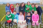 Having fun at the Bright Start Easter Camp in Glenbeigh last week. .Front L-R Sadhbh Casey, Emily O'Sullivan, Aoibhín O'Donovan, Stephen Gannon, Ciara Griffin and Ameilia Carroll. .Back L-R Maolaoise Scales, Mikey Griffin, Seodhla O'Donovan, Emily and Clodagh O'Shea, Ruby Mae Breen and Alexa Falvey.