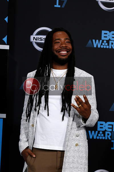 DRAM<br /> at the BET Awards 2017, Microsoft Theater, Los Angeles, CA 06-25-17<br /> David Edwards/DailyCeleb.com 818-249-4998
