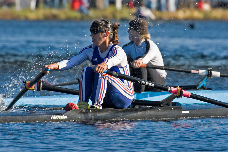 Boston, Rowing, 2006 Head of the Charles Regatta, Cambridge, Massachusetts, USA., Federation Francaise des Societes, Sophie Balmary, Championship Singles Women,