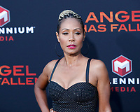 "LOS ANGELES - AUG 21:  Jada Pinkett Smith at the ""Angel Has Fallen"" Premiere at the Village Theater on August 21, 2019 in Westwood, CA"