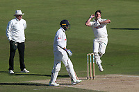Steven Mullaney in bowling action for Nottinghamshire during Nottinghamshire CCC vs Essex CCC, Specsavers County Championship Division 1 Cricket at Trent Bridge on 13th September 2018
