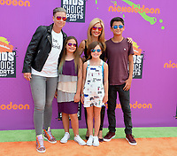 Abby Wambach, Glennon Doyle Melton &amp; Guests at Nickelodeon's Kids' Choice Sports 2017 at UCLA's Pauley Pavilion. Los Angeles, USA 13 July  2017<br /> Picture: Paul Smith/Featureflash/SilverHub 0208 004 5359 sales@silverhubmedia.com