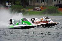 Ruben Ascencio III (#65) and Jimmie Merleau (#69)     (Formula 1/F1/Champ class)