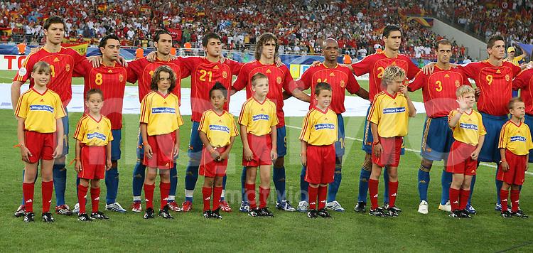 Fussball WM 2006  Gruppenspiel  Vorrunde  Gruppe H Spanien 3-1 Tunesien