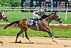 Knacque winning at Delaware Park on 6/8/16