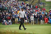 Henrik Stenson (SWE) approaches the green on 3 during round 4 of the 2019 US Open, Pebble Beach Golf Links, Monterrey, California, USA. 6/16/2019.<br /> Picture: Golffile | Ken Murray<br /> <br /> All photo usage must carry mandatory copyright credit (© Golffile | Ken Murray)