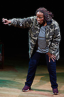 Until the Flood written and performed by Dael Orlandersmith, directed by Neel Keller and presented by Repertory Theater in St. Louis, Missouri on Oct 11, 2016.