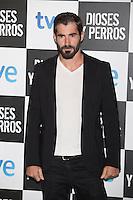 Jose Sospedra poses at `Dioses y perros´ film premiere photocall in Madrid, Spain. October 07, 2014. (ALTERPHOTOS/Victor Blanco) /nortephoto.com
