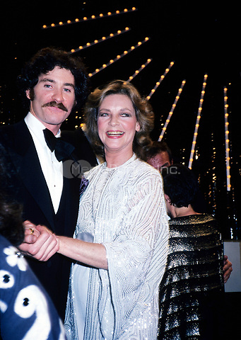 Lauren Bacall and Kevin Kline in June of 1981. © Nancy Barr  / MediaPunch