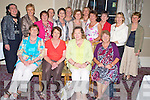 Pictured at the 1965-1970 class from St Bridgets Presentation, Killarney at the Malton Hotel, Killarney on Saturday night were Marion Finnegan, Catherine Murphy, Myra O'Sullivan, Eithne Sparling, Geraldine Murphy, Mary Carey, Nora Coffey, Ann Breen, Eileen McCarthy, Maura Moynihan, Marie Healy, Candy MacMonagle, Doreen Brosnan, Maureen McCarthy, Kathleen Foley and Eilleen O'Sullivan.
