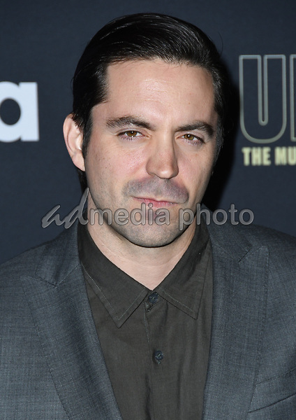 "22 February 2018 - Hollywood, California - Rhys Coiro. USA Network's ""Unsolved: The Murders of Tupac & The Notorious B.I.G."" held at Avalon Hollywood. Photo Credit: Birdie Thompson/AdMedia"