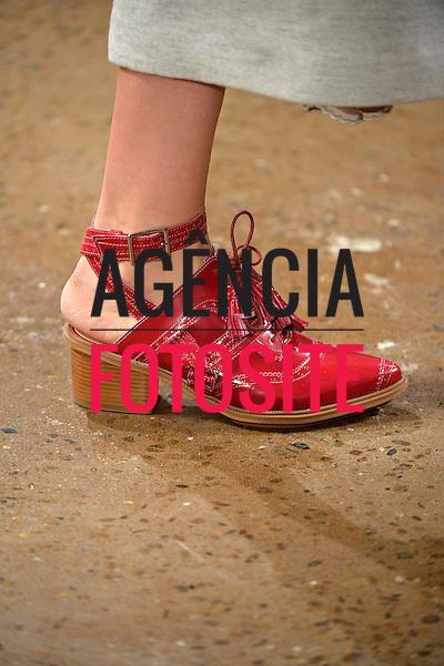 Nova Iorque, EUA &ndash; 02/2014 - Desfile de Alexandre Herchcovitch durante a Semana de moda de Nova Iorque - Inverno 2014.&nbsp;<br /> Foto: FOTOSITE