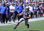 September 10, 2016 - Colorado Springs, Colorado, U.S. - Air Force running back, Tim McVey #33, breaks free for a first half touchdown during the NCAA Football game between the Georgia State Panthers and the Air Force Academy Falcons at Falcon Stadium, U.S. Air Force Academy, Colorado Springs, Colorado.  Air Force defeats Georgia State 48-14.