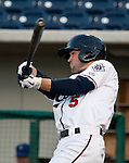 Reno Aces Cole Gillespie swings vs the Las Vegas 51s on Tuesday night, May 1, 2012 in Reno, Nevada.