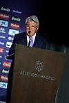 Atletico de Madrid's President Enrique Cerezo. July 4, 2019. (ALTERPHOTOS/Acero)