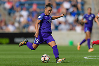 Bridgeview, IL - Saturday July 22, 2017: Camila Martins Pereira during a regular season National Women's Soccer League (NWSL) match between the Chicago Red Stars and the Orlando Pride at Toyota Park. The Red Stars won 2-1.