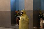 Israel, a prayer at the Ethiopian Orthodox Church (Debra Gannet) in West Jerusalem