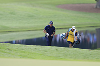 Phil Mickelson (USA) and brother Tim walk to the 15th green during Friday's Round 2 of the 2017 PGA Championship held at Quail Hollow Golf Club, Charlotte, North Carolina, USA. 11th August 2017.<br /> Picture: Eoin Clarke | Golffile<br /> <br /> <br /> All photos usage must carry mandatory copyright credit (&copy; Golffile | Eoin Clarke)