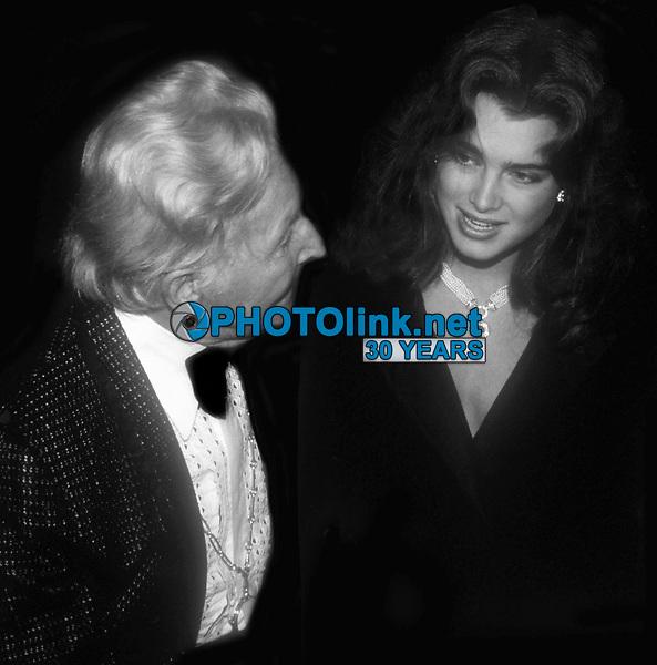Erte Brooke Shields 1984<br /> Photo By John Barrett/PHOTOlink