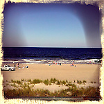 Saturday June 16 in Long Branch beach, New Jersey  /Kena Betancur/VIEW..
