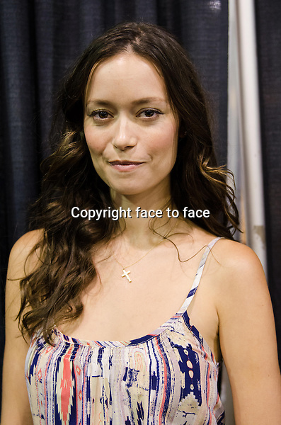 Summer Glau appears at Wizard World Chicago Comic Con in Rosemont, Illinois, 10.08.2013.<br /> Credit: MediaPunch/face to face<br /> - Germany, Austria, Switzerland, Eastern Europe, Australia, UK, USA, Taiwan, Singapore, China, Malaysia, Thailand, Sweden, Estonia, Latvia and Lithuania rights only -