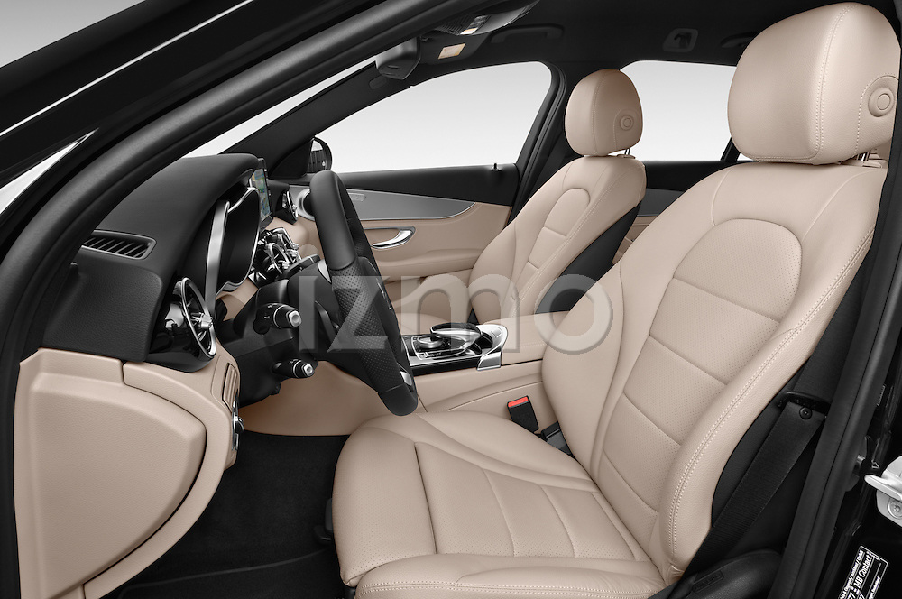 Front seat view of a 2014 Mercedes Benz C-CLASS Avantgarde 5 Door Wagon 2WD Front Seat car photos
