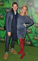 Brendan Cole and Zoe Hobbs at the OVO by Cirque du Soleil press night, Royal Albert Hall, Kensington Gore, London, England, UK, on Wednesday 10 January 2018.<br /> CAP/CAN<br /> &copy;CAN/Capital Pictures