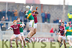 Jason Foley Kerry in action against  Galway in the Allianz Football League Division 1 Round 4 match between Kerry and Galway at Austin Stack Park, Tralee, Co. Kerry.
