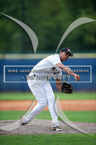Christopher Jones #13 during the Team One South Showcase presented by Baseball Factory at Chappell Park on July 14, 2012 in Atlanta, Georgia.  (Copyright Mike Janes Photography)