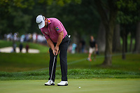 Graeme McDowell (NIR) sinks his putt on 5 during Rd3 of the 2019 BMW Championship, Medinah Golf Club, Chicago, Illinois, USA. 8/17/2019.<br /> Picture Ken Murray / Golffile.ie<br /> <br /> All photo usage must carry mandatory copyright credit (© Golffile   Ken Murray)
