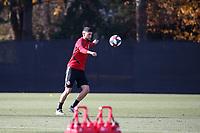 TUKWILA, WA - NOVEMBER 08: Jonathan Osorio #21 of Toronto FC at Starfire Sports Complex on November 08, 2019 in Tukwila, Washington.