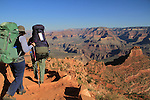 South Kaibab Trail descending Cedar Ridge, South Rim in Grand Canyon National Park, northern Arizona. .  John leads hiking and photo tours throughout Colorado. . John offers private photo tours in Grand Canyon National Park and throughout Arizona, Utah and Colorado. Year-round.